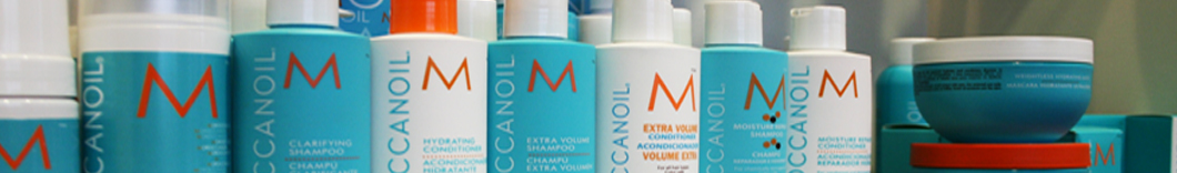 Morocann Oil hair products.